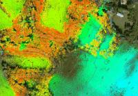 Trabajo con datos LIDAR obtenidos con plataformas RPAS