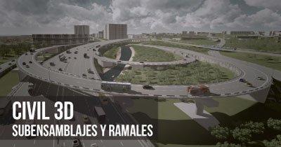 curso CIVIL 3D subensamblajes Imasgal