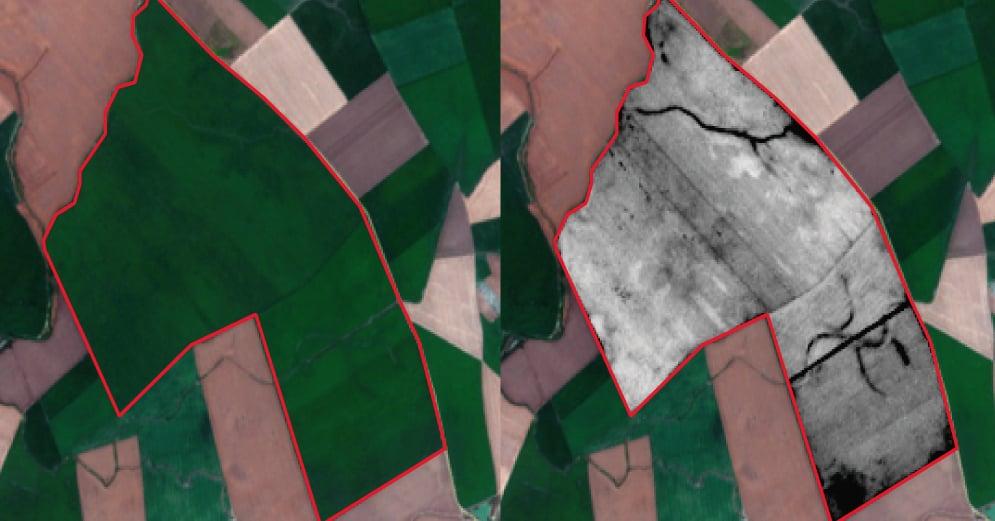 Imagen superior curso Teledetección agrícola