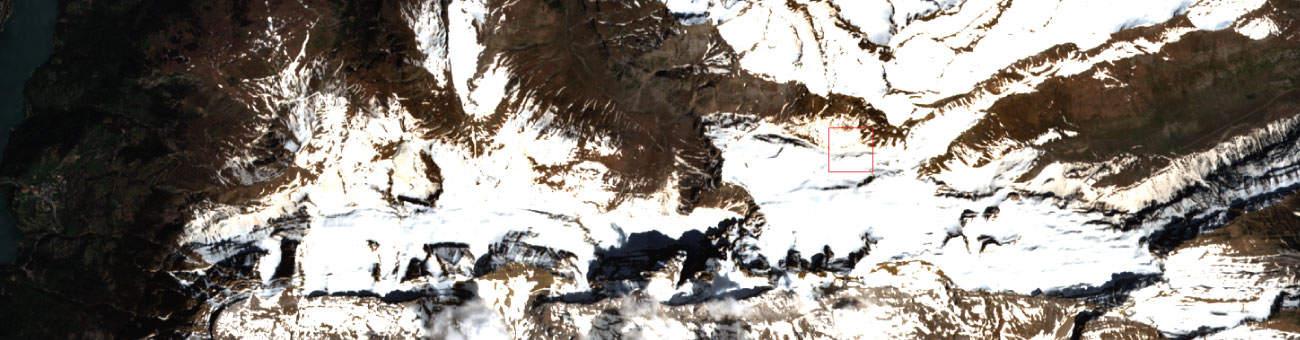 Imagen superior Teledetección forestal
