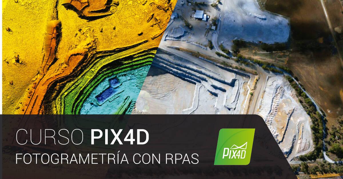 Curso PIX4D: Fotogrametría con RPAS   Imasgal