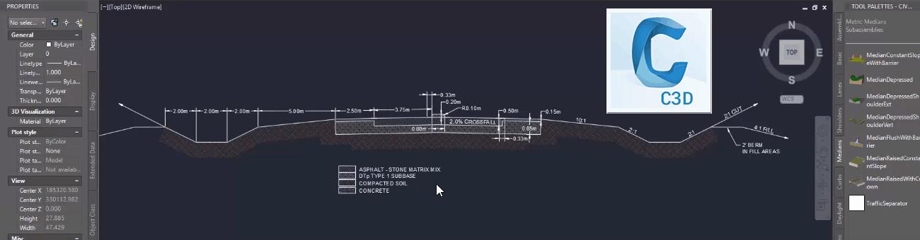 Parámetros de Salida (Output Parameters) en Civil 3D | Imasgal