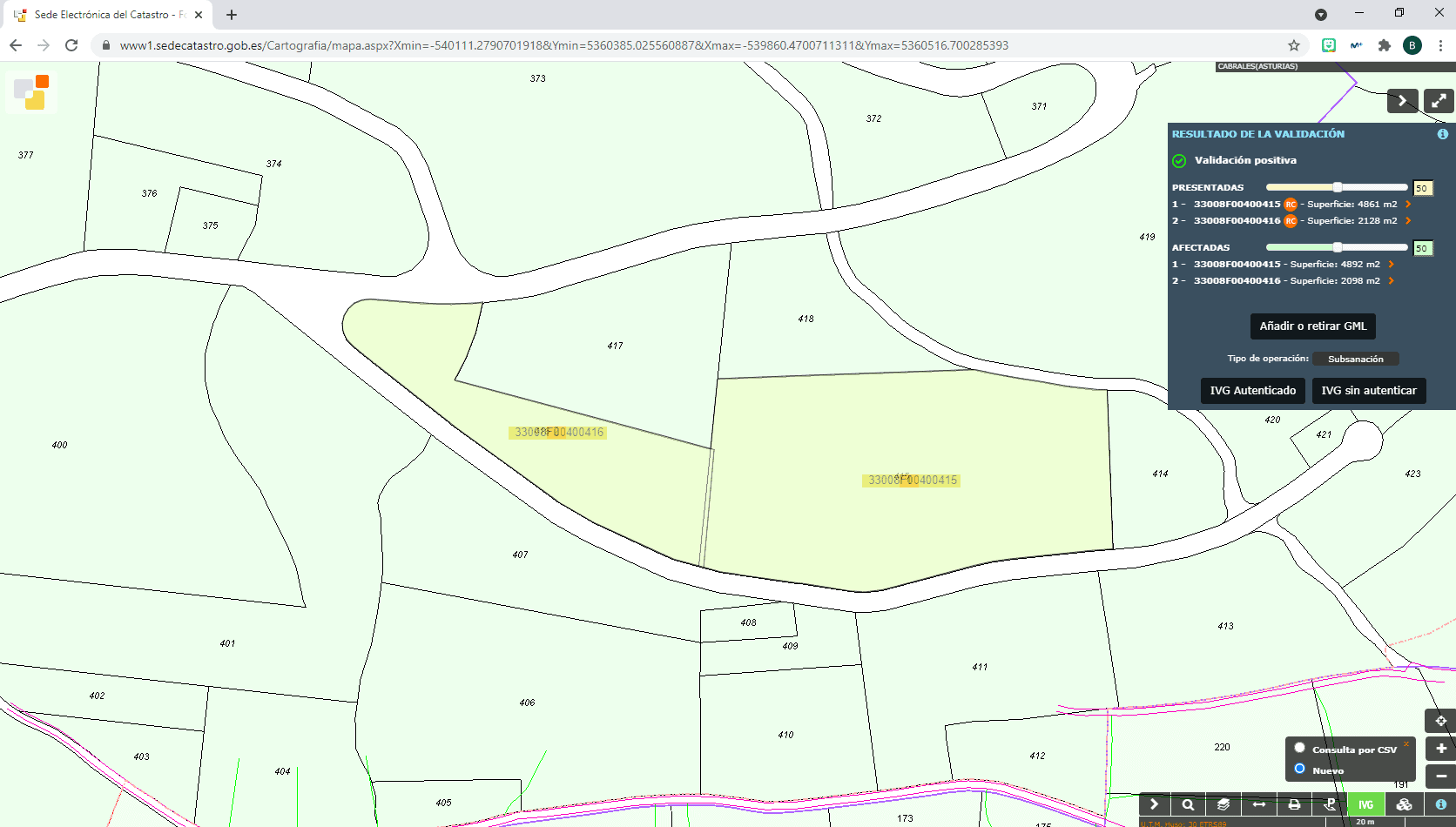 generar gml para catastro con qgis 19